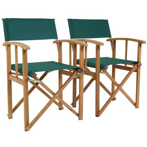 wooden folding directors chair charles bentley pair of folding wooden directors chairs