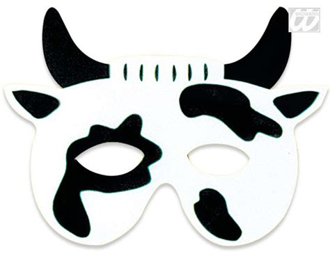 printable mask cow 8 best images of free printable cow mask printable cow