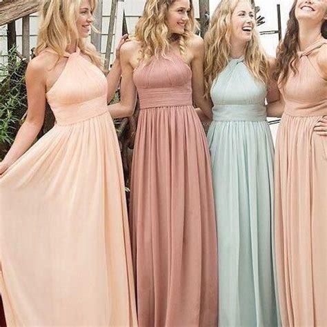 Bridesmaid Dress Material Options - bridesmaid dress halter bridesmaid dress a line