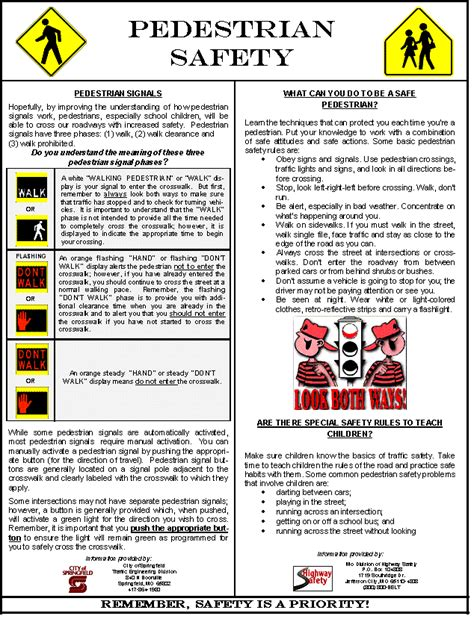 safety bulletin template intranet