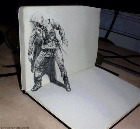 cool 3d pencil drawings very cool 3d drawing dailypicdump
