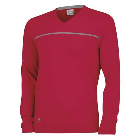 Sweater Adidas 3 Colors new adidas golf v neck rib knit sweater 3 stripes logo size color ebay
