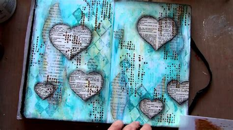 create your book mixed media projects for expanding creativity and encouraging personal growth books journal page on hold doovi
