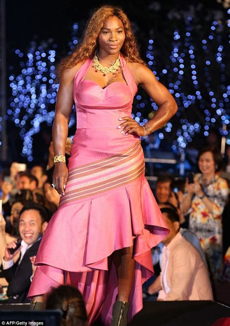 Catwalk To Carpet Serena Williams by Serena Williams Steps Onto The Catwalk During Fashion Show