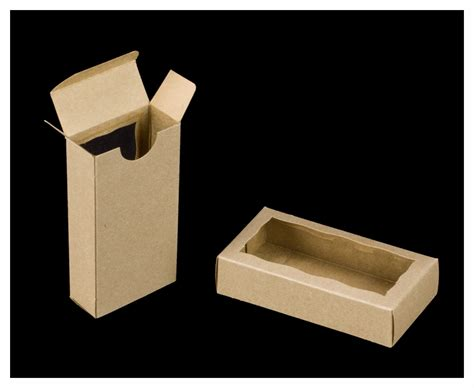 boxes with windows 3658 4 5 16 quot x 2 1 4 quot x 1 quot brown brown favor box