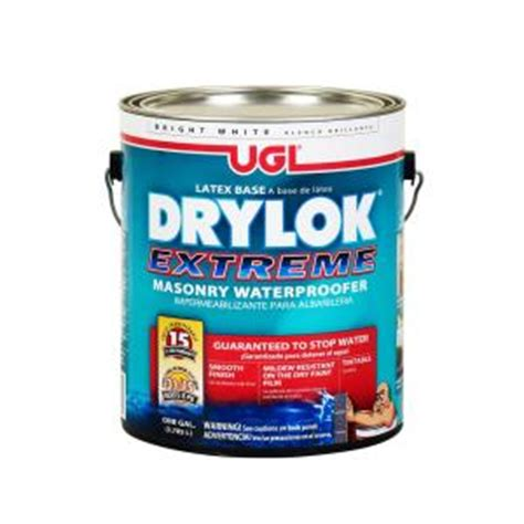 drylok 1 gal masonry waterproofer 28613 the