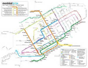 montreal canada metro map catbus 187 montr 233 al
