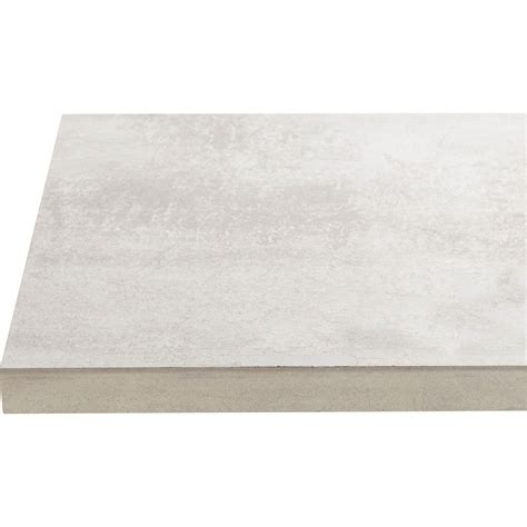 plan de travail cuisine effet beton plan de travail stratifi 233 effet b 233 ton blanc l 246xp 63 5