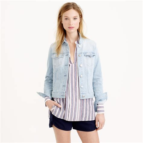 light blue denim jacket light blue jean jacket for women fit jacket