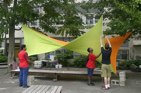diy shade structure no sew spandex tensile shade structure shade structure planning and design