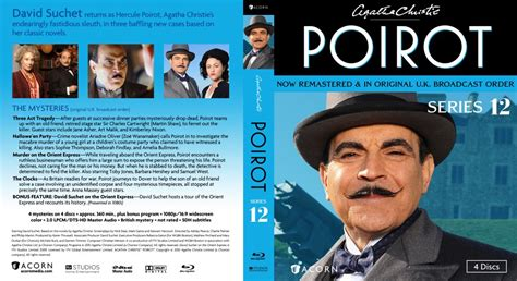 buy agatha christie s poirot the big four on dvd sanity agatha christie s poirot series 12 tv blu ray scanned covers poirot series12 bd cover