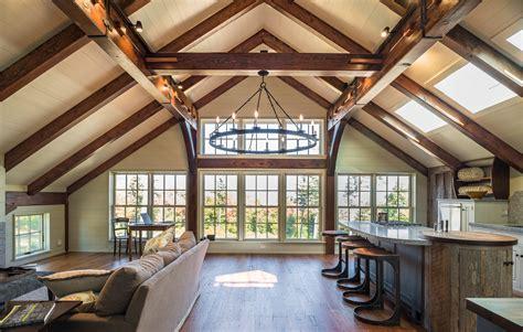 douglas fir timber frame floor timber frame house floor barn home with a douglas fir timber frame