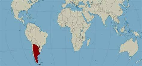 where is argentina on the world map map of argentina where is argentina located