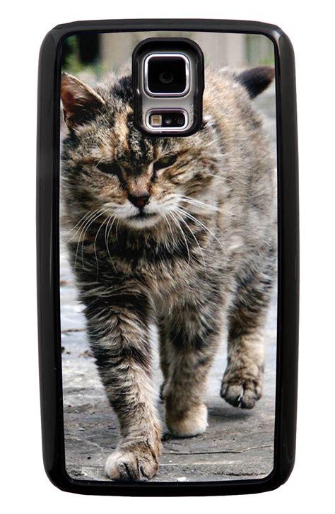 cute themes for samsung s5 samsung galaxy s5 sv cat case strutting cat photo cute