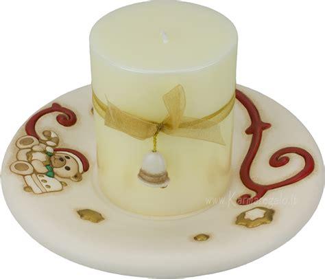 thun candele porta candela avorio con candela thun