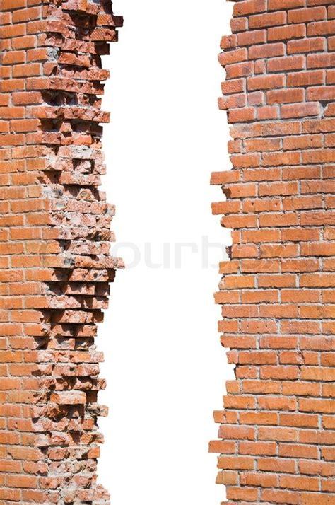 Popular Floor Plans broken brick wall isolated stock photo colourbox