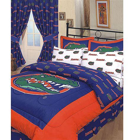 florida gators bedroom decor florida gators 100 cotton sateen twin bed in a bag