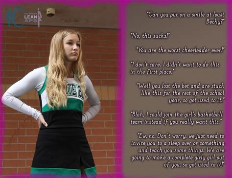 forced feminization story bad boy to good girl courtney s clean caps bad attitude cheerleader tg