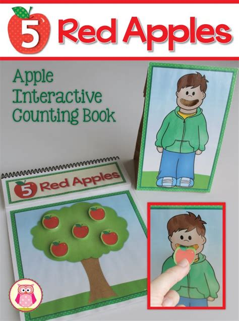my apple counting book free 17 best images about my tpt products on early
