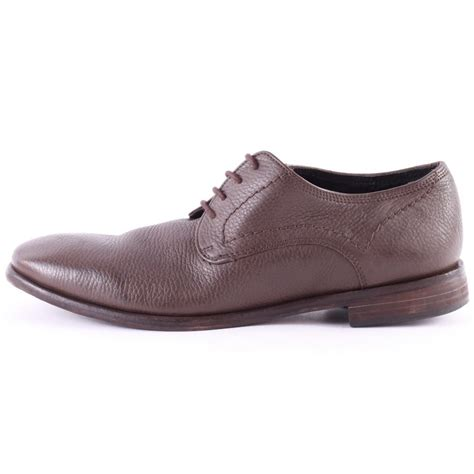 by hudson mens shoes h by hudson chiba derby mens shoes in tan