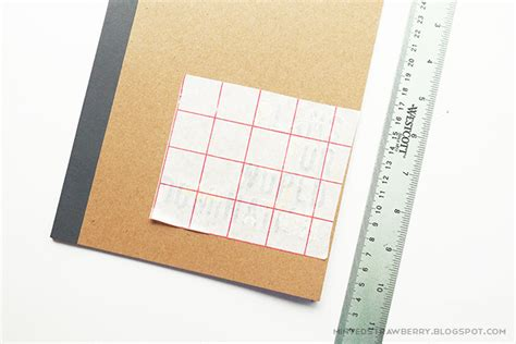 Letter Transfer Paper Diy Easy Personalized Notebook Minted Strawberry