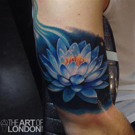 blue lotus tattoo hours blue lotus flower tattoo by london reese tattoonow