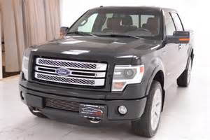 Ford F 150 Limited Edition 2013 Ford F 150 4wd Supercrew Limited Edition Navigation