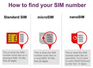 where to find your sim number