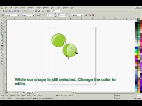 tutorial desain grafis corel draw x3 coreldraw x3 tutorial buttons youtube