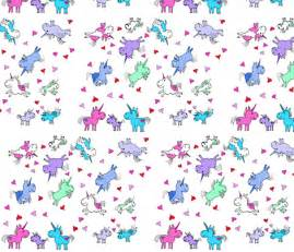 Horse Gift Wrap - cartoon unicorns wallpaper electricfoxfabrics spoonflower