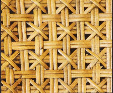 Wallpaper Import Motif Bambu Kecil ragam motif anyaman rotan rumah idaman kita