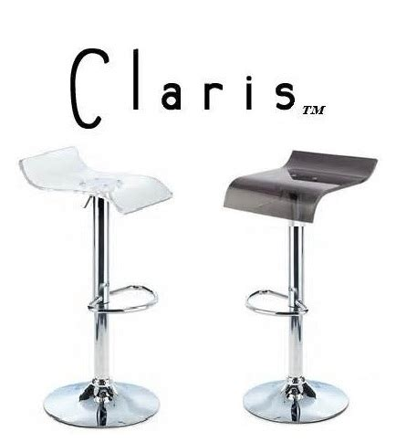 Modern Contemporary Adjustable Bar Stools by Claris Contemporary Single Adjustable Bar Stool