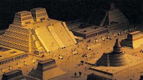 imagenes de templos aztecas gran tenochtitlan centro ceremonial y templo mayor