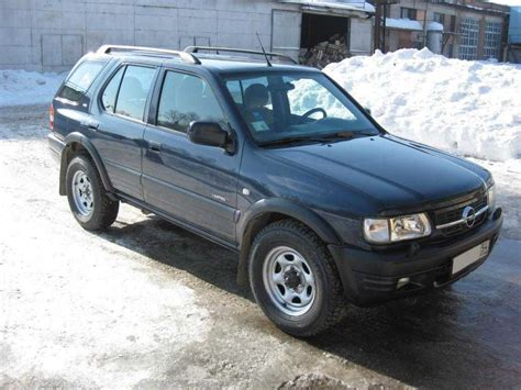2002 Opel Frontera For Sale 2 2 Gasoline Manual For Sale