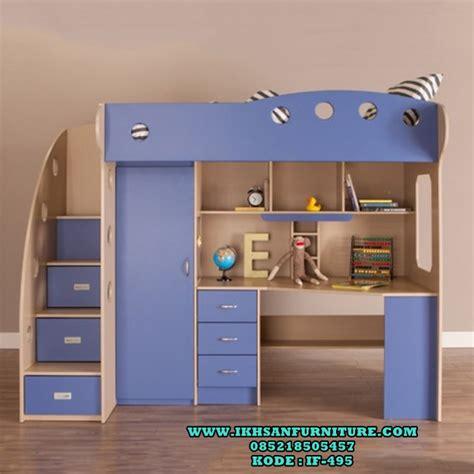 Meja Belajar Multifungsi tempat tidur tingkat meja belajar tempat tidur tingkat multifungsi ikhsan furniture jepara