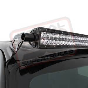 Led Light Bar Roof Mount 50 Quot Rigid Led Light Bar W Roof Mount Brackets 2007 2013 Silverado
