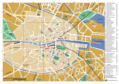 city map dublin city map dublin ireland mappery