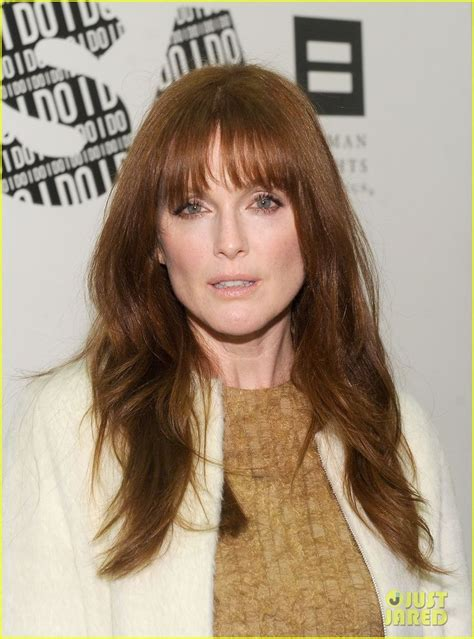 julianne moore hair colour from the drug store julianne moore americans for marriage equality launch