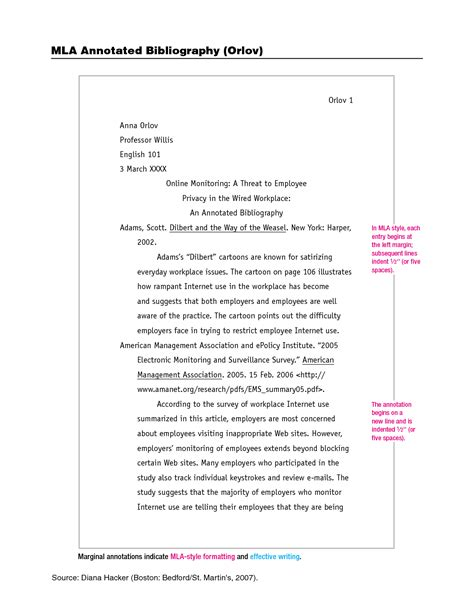 Mla Format Annotated Bibliography Google Search Mla Annotated Bibliography Pinterest Mla Summary Template