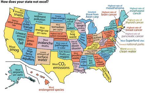 Jersey Usa Amerika Serikat Home 2016 Cetak Nama infographic united states of the environment mnn