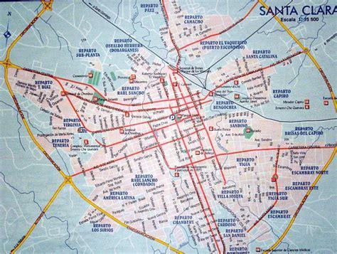 santa clara map where is santa clara cuba on the map