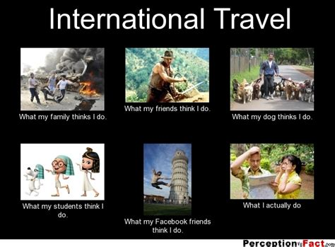 What I Do Meme - international travel what people think i do what i
