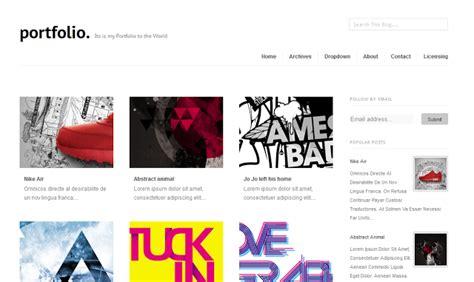 blogspot themes portfolio portfolio responsive blogger templates template