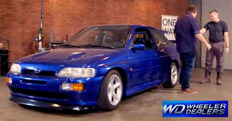 Home Design Show Miami by Ford Escort Rs Cosworth At The Premiere Of Wheeler Dealers