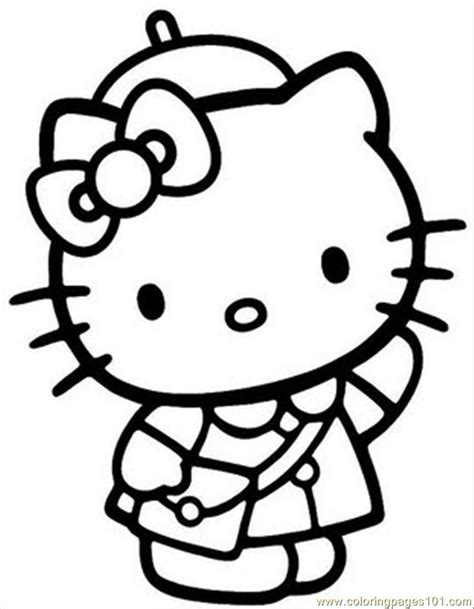 hello kitty coloring pages you can print free printable hello kitty coloring pages 2977