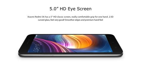 Xiaomi Redmi 5a 2 16 Gold Silver Resmi Tam global version xiaomi redmi 5a 2gb 16gb smartphone silver gray