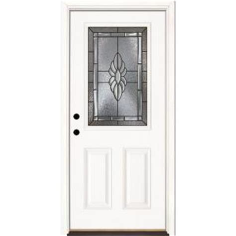 Half Door Home Depot by Feather River Doors 33 5 In X 81 625 In Sapphire Patina