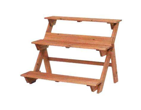 porta vasi in legno portavaso legno a scala 75x62x60 valsania varie