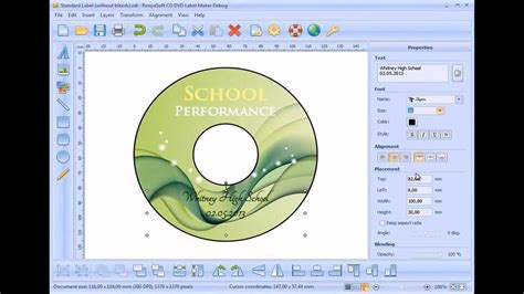 cd template maker how to create dvd label without photoshop