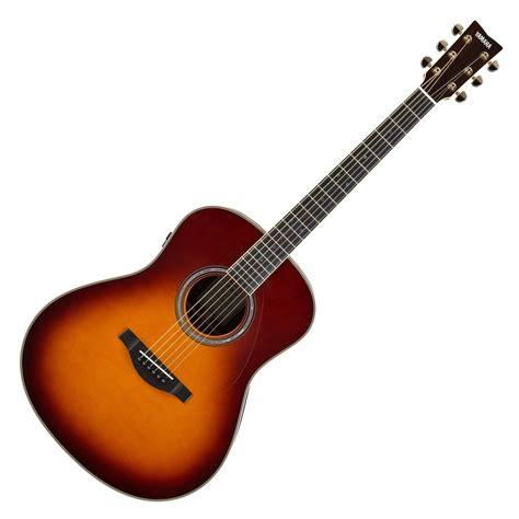 Guitar Gitar yamaha ll ta transacoustic guitar brown sunburst at